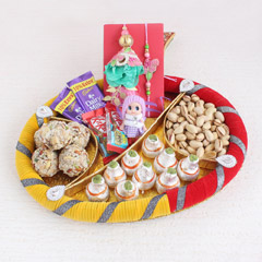 Lovely Surprise Rakhi Hamper