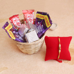 Heart touching Rakhi Hamper