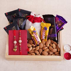 Fantastic Rakhi Gift for Coupl..