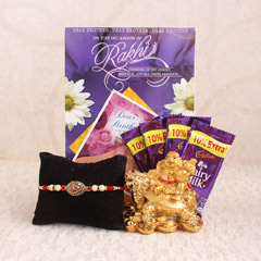 Antique Rakhi Gifts for Bro
