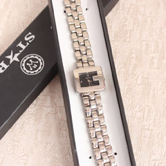 Elegant Steel Ladies Watch