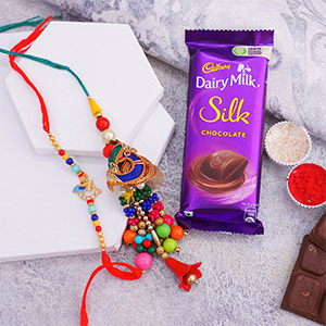 Colourful Bhaiya Bhabhi Rakhi ..
