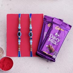 Feng Shui Rakhi Set with Choco..