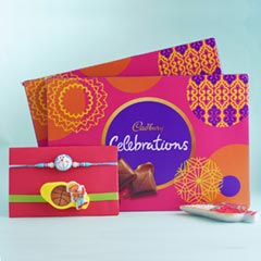 2 Kids Rakhi Set with Cadbury ..