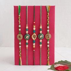 Designer Rakhi Set of Five