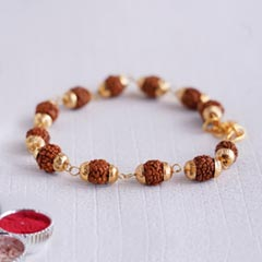 Designer Rudraksha Bracelet Ra..