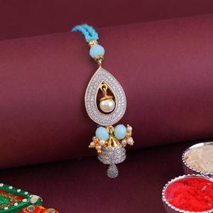 Designer Lumba Rakhi for Bhabh..