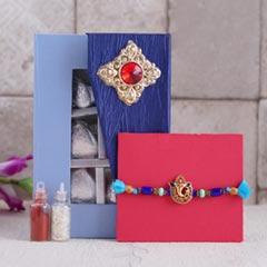 Ganesha Rakhi with Assorted Ch..