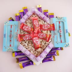 Two AD Rakhis with Chocolates ..