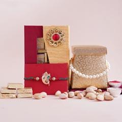 Ganesha Rakhi with Chocolates ..