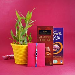 Evil Eye Rakhi with Chocolates..