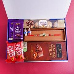 Designer Rakhi N Yummy Chocola..