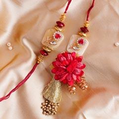Designer Golden Bhaiya Bhabhi ..