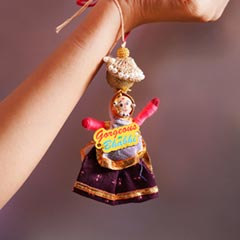 Traditional Lumba Rakhi for Bh..