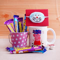 Doraemon Rakhi with Chocolate ..