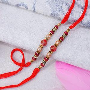 Set of Two Pearl Rakhis