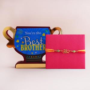 Designer Rakhi with Best Broth..