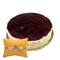 Eggless Blueberry White with R..