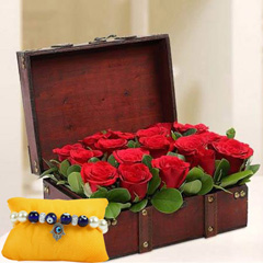 Treasured Roses with Kundan Ra..