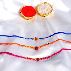 Sandalwood Rakhi Set