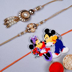 Kids Family Rakhi Set