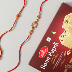 American Rakhi Set with Soan P..