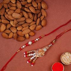 Fancy Lumba Set And Almonds