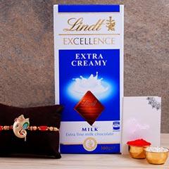 Alluring Silver Ganesha Rakhi ..