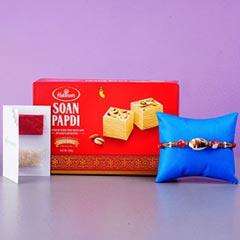 Designer Shell Rakhi And Soan ..