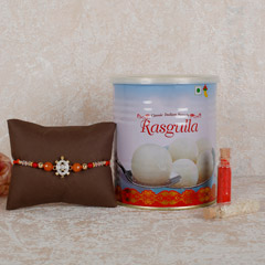 Rasgulla And Designer Rakhi Co..