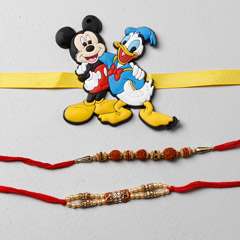 Fancy Rakhi And Kids Rakhi Set