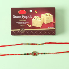 Set Of 2 Stunning Rakhis With ..
