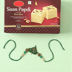 Soan Papdi And Designer Rakhi ..