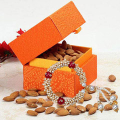 Box of Almonds with Lumba Rakh..
