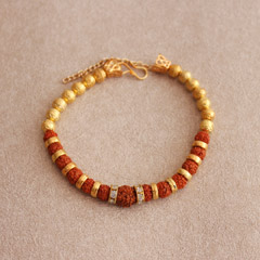 Striking Rudraksha Bracelet