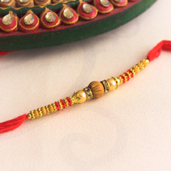 Captivating Beaded Rakhi