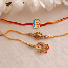 Smashing Rakhi Set for Brother..