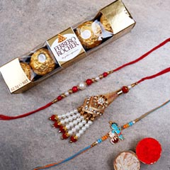 Family Set of Rakhis And Roche..