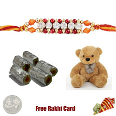 Assorted Rolls Soft Toy Rakhi ..