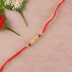Golden Touch Traditional Rakhi