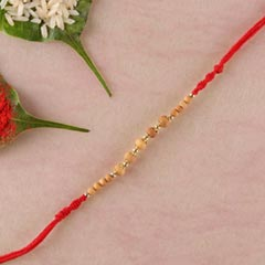 Traditional Sandalwood Rakhi