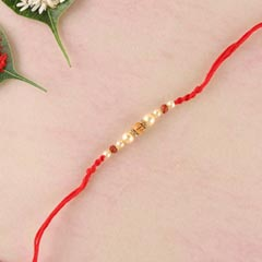 White Multiple Rakhi Thread
