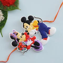 Micky Mouse Cartoon Rakhi