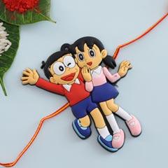 Nobita-Shizuka Kids Rakhi