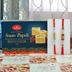 Amazing Rakhi Set Sweet Hamper..