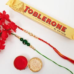 2 Rakhis & Toblerone Set