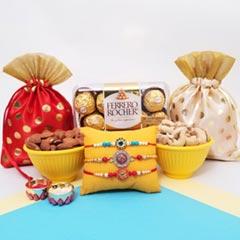 Rakhis, Nut Potlis & Ferrero