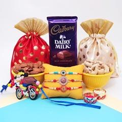 Rakhis, Nut Potlis & Cadbury
