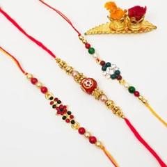 3 Colorful Rakhis
