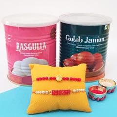 Rakhi pair sweetness